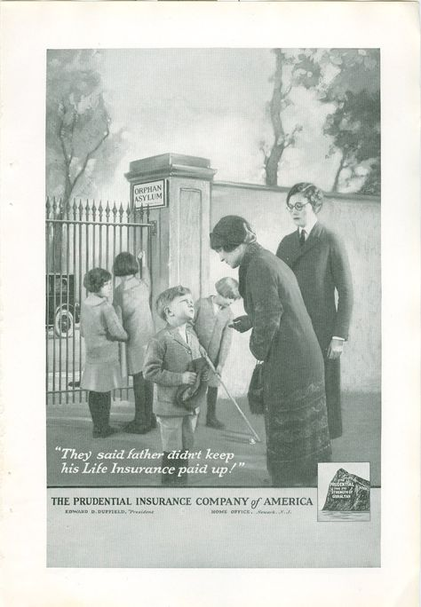 1926 Magazine Ad The Prudential Insurance Company Of America
