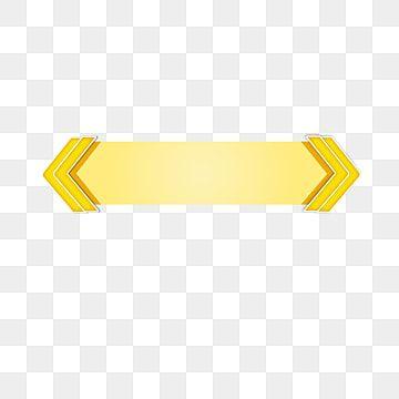 Cuadro De Titulo De Gradiente De Flecha De Rectangulo Amarillo Amarillo Rectangulo Flecha Png Y Vector Para Descargar Gratis Pngtree Geometry Art Design Psd Texture Paint Background