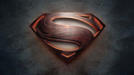 HD wallpaper: Superman logo, Man of Steel, no people, indoors, single object