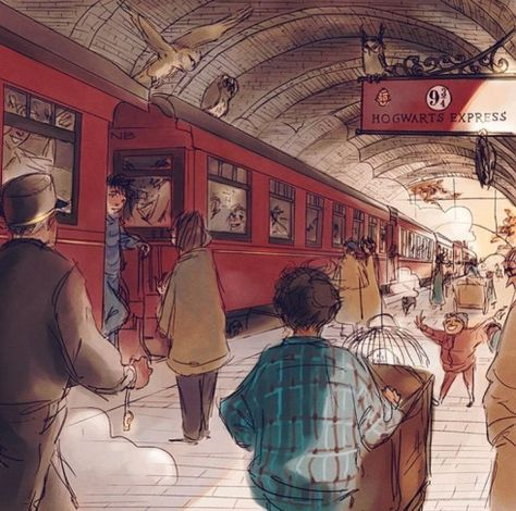 1 September 2017 Backtohogwarts Comicmovies Comic Movies Harry Potter Harry Potter Illustrations Harry Potter Pictures Harry Potter Drawings