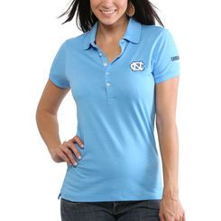 new styles 41890 845f9 North Carolina Tar Heels Women s Delta Polo - Light Blue