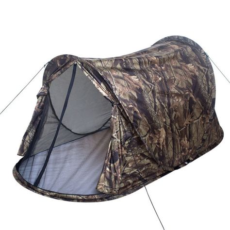 1 2 People Outdoor Camping Tent Camouflage Tente For Hiking