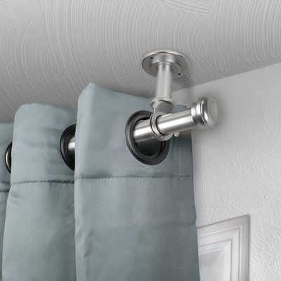 Brayden Studio Stapleford Single Curtain Rod Size 160 240 L