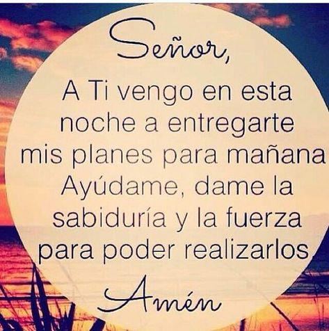 Señor no me abandones Nunca Amen!