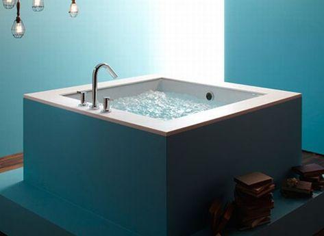 Vasca Da Bagno Grande Dimensioni : Galleria foto vasche da bagno moderne e di piccole dimensioni