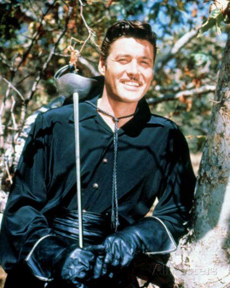 Guy Williams - Zorro Television Photo - 20 x 25 cm