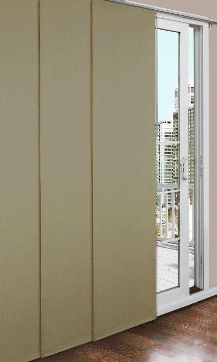 Prelude Complete Insulated Sliding Door Panel Set In 2020 Sliding Door Panels Insulated Curtains House Styles