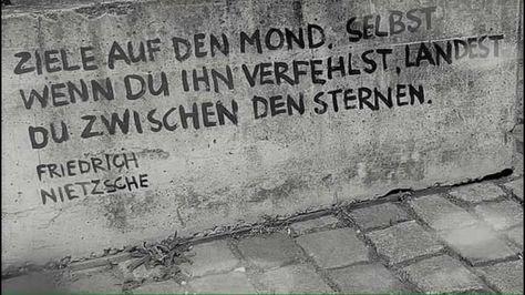 Ziele auf den Mond. Selbst wenn du ihn verfehlst, landest du zwischen den Sternen. - Friedrich Nietzsche #zitat #zitate #spruch #sprüche #worte #wahreworte #schöneworte #gedichte