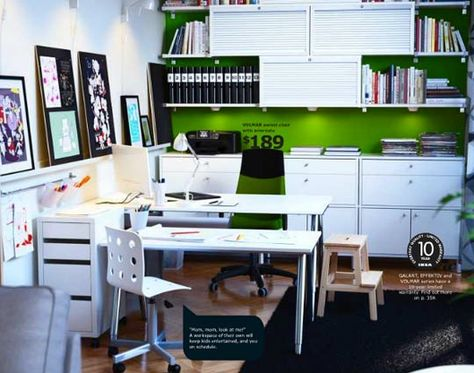 The ikea solution for an interruption free workspace home office