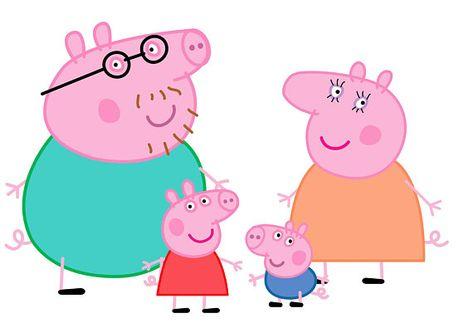 Peppa Pig Svg Familia Peppa Pig Peppa Svg Familia Peppa Peppa