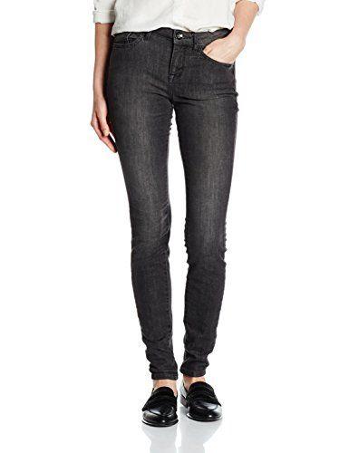 autumn shoes best website best quality TOM TAILOR Damen Jeanshose Alexa Grey Schwarz (Black Stone ...