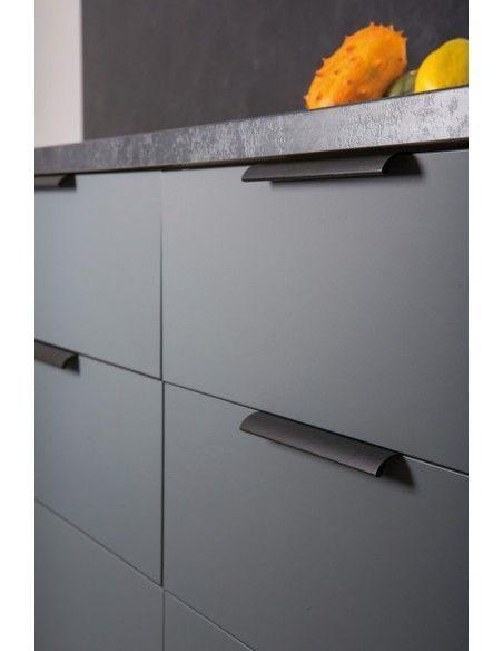 Black Brushed Profile Door Handles 50 200 350 Or 1100mm Lengths Modern Trim Door Furniture Pro Kitchen Handles Kitchen Door Handles Black Kitchen Handles