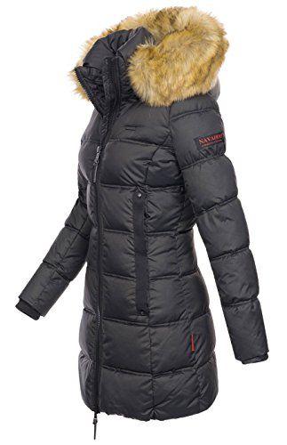 Diese hochwertige Damen Winter Jacke aus wasserabweisendem