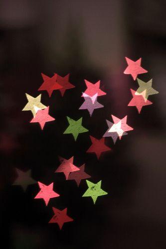 Star-shaped Bokeh! by Katie Freeland, via Flickr