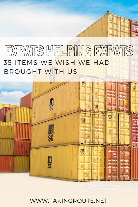 Expats Helping Expats: 35 Items We Wish We Had Brought With Us - Taking Route Honduras, Moving To The Uk, Living In Mexico, Moving Overseas, Packing To Move, Work Abroad, Travel Wardrobe, Oh The Places You'll Go, Travel Tips