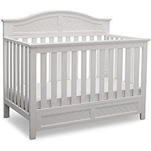 10 Delta Children Bennington Elite Curved 4 In 1 Convertible Crib Bianca White Delta Children Cribs Baby Cribs Convertible