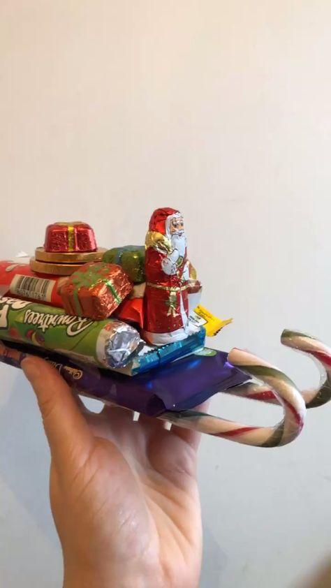Chocolate Santa Sleighs