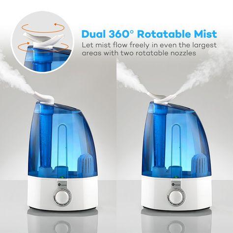Whole House Humidifiers vs. Portable Humidifiers