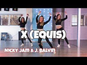 X Equis Nicky Jam J Balvin Easy Fitness Dance Choreography Baile Coreografia Youtube Dance Videos Easy Workouts Dance Choreography Videos