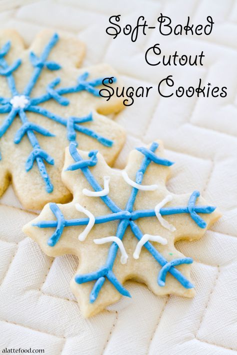 These soft rollout sugar cookies have Christmas and New Years written all over them! It's the perfect cookie.