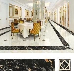 Floor Tiles Decor Stickers 5m Acchic In 2020 Decorative Tile Tile Floor Flooring