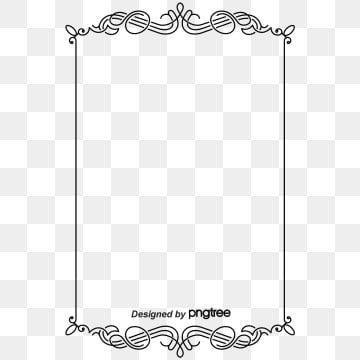 Vintage Frame Png Images Vector And Psd Files Free Download On Pngtree Frame Border Design Vintage Borders Page Borders Design