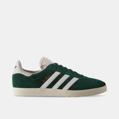 adidas gazelle bianche e verdi
