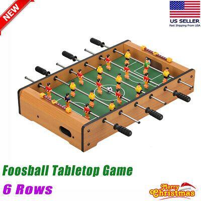 Advertisement Ebay Portable Mini Tabletop Foosball Table Top Football Soccer Indoor Game W 6 Rows Table Top Football Mini Footballs Indoor Games