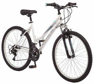 Buy Roadmaster 26 Inch Granite Peak Mountain Bike Women White In 2020 Mountain Biking Women Bicycle Mountain Biking