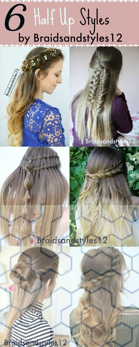 List Of Pinterest Lazy Day Hairstyles For Medium Hair Half Up Half