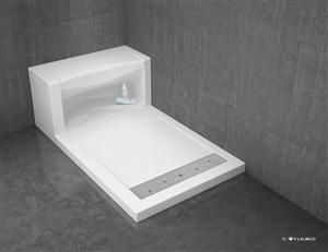Introducing A Luxury Acrylic Shower Base Line With An Innovative