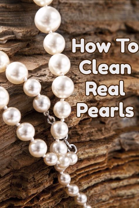 Guide To Cleaning Natural Pearls Pearls Natural Pearls Cleaning Silver Jewelry