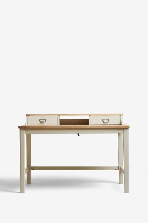 Next Huxley Painted Desk Cream