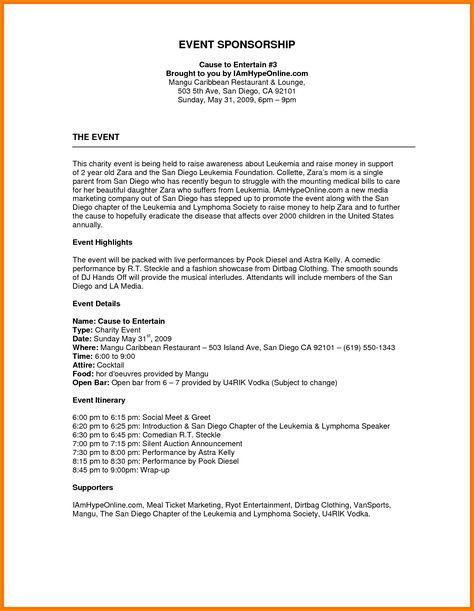 Image Result For Sponsorship Proposal Template Event Proposal Template Event Proposal Event Planning Proposal
