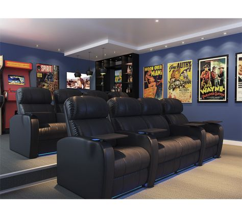 Octane Seating Diesel Home Theater Seating - My Octane™