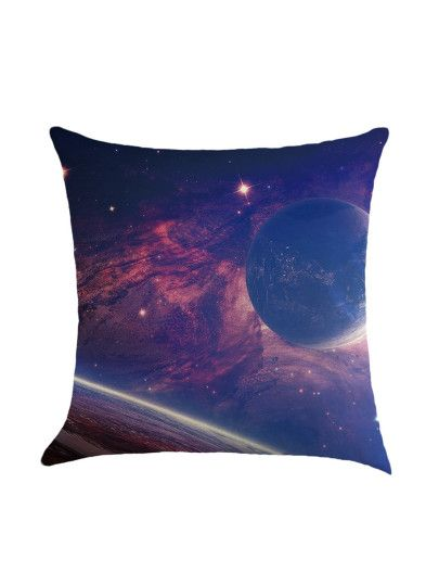 milky way galaxy Pillowcase Throw