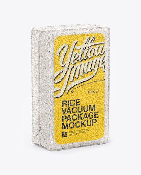 Download Rice Packaging Mockup Mockup Free Psd Vacuum Packaging Free Psd Mockups Templates