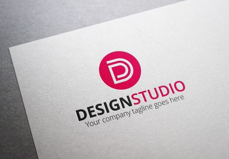 Design Studio- Letter D Logo by XpertgraphicD on @creativemarket