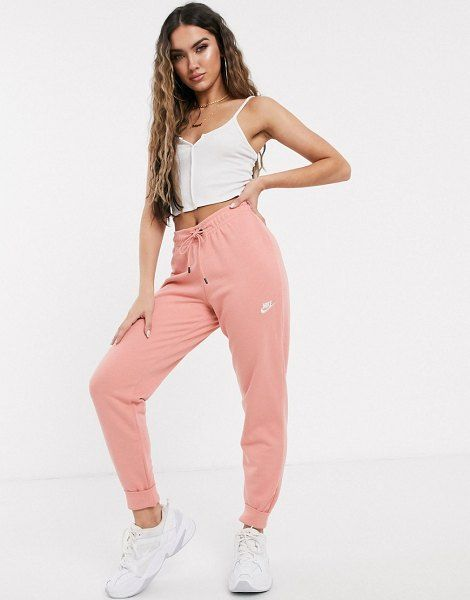 Nike Pink Essentials Slim Sweatpants