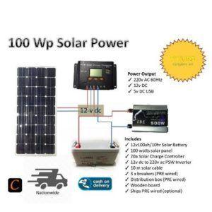 What Can A 100 Watt Solar Panel Run A Look At A Small System 100 Watt Solar Panel Solar Energy Panels Solar Panels