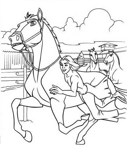 ausmalbilder bibi und tina reiten  tiffanylovesbooks