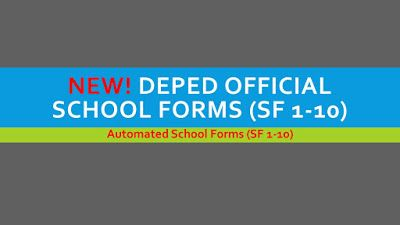 NEW! DepEd Official School Forms (SF 1-10) | DEPED TAMBAYAN