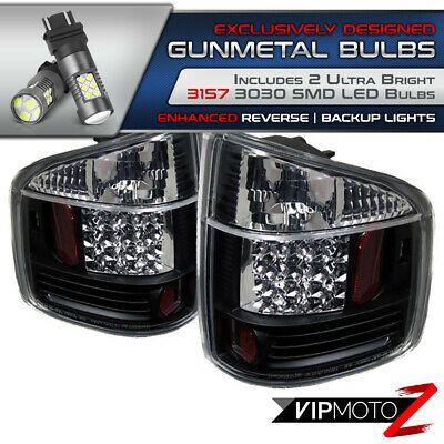 Sponsored Ebay Black Brake Tail Light Chevy S10 Gmc Sonoma 94 04 Super Bright Led Backup Bulb With Images Chevy S10 Tail Light Bright Led