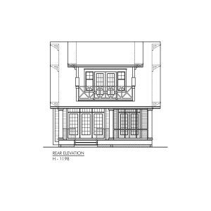 Craftsman H 1198 Robinson Plans House Plans Storey Homes Craftsman House Plans