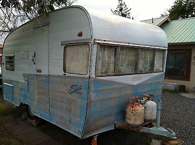 1964 Shasta Camp Trailer Vintage Travel Trailer Canned Ham Used Shasta For Sale In Vintage Travel Trailers Camping Trailer For Sale Used Camping Trailers