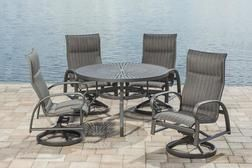 legacy 5 piece dining patio set from