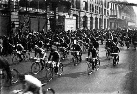 course de porteurs de journaux, 1932