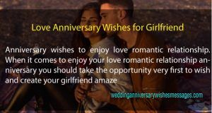 Love Anniversary Wishes For Girlfriend With Messages And Quotes Love Anniversary Wishes Love Anniversary Happy Anniversary Wishes