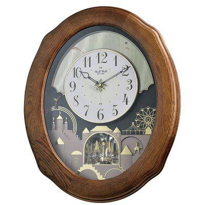 Rhythm Joyful Timecracker Wall Clock Clock Wall Clock Rhythm Clocks