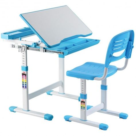 Fabulous Multifunctional Height Adjustable Childrens Desk Chair Set Gmtry Best Dining Table And Chair Ideas Images Gmtryco